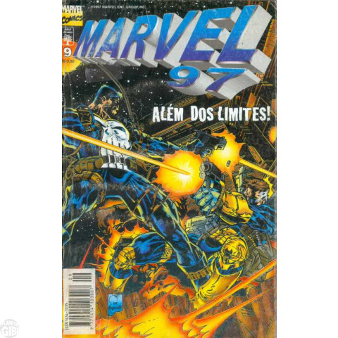 Marvel 1997 [Abril] nº 009 nov/1997