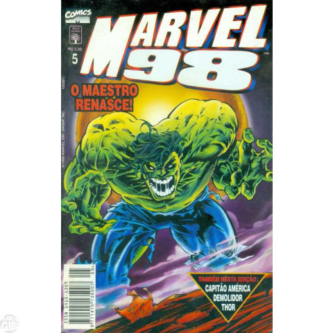 Marvel 1998 [Abril] nº 005 mai/1998