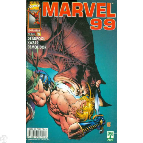 Marvel 1999 [Abril] nº 005 mai/1999