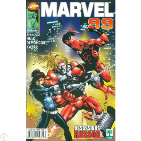 Marvel 1999 [Abril] nº 006 jun/1999