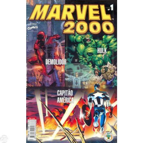 Marvel 2000 [Abril] nº 001 jan/2000