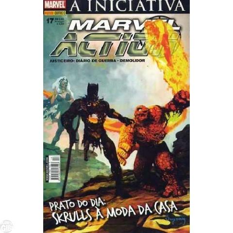 Marvel Action [Panini - 1ª série] nº 017 mai/2008 - A Iniciativa