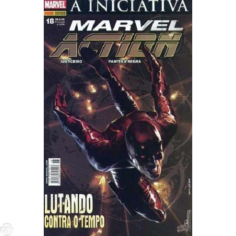 Marvel Action [Panini - 1ª série] nº 018 jun/2008 - A Iniciativa