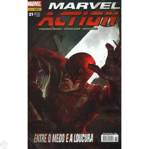 Marvel Action [Panini - 1ª série] nº 021 set/2008