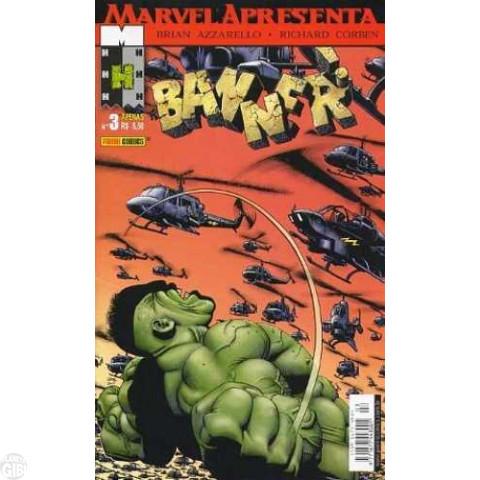 Marvel Apresenta [Panini - 1ª série] nº 003 dez/2002 - Banner!