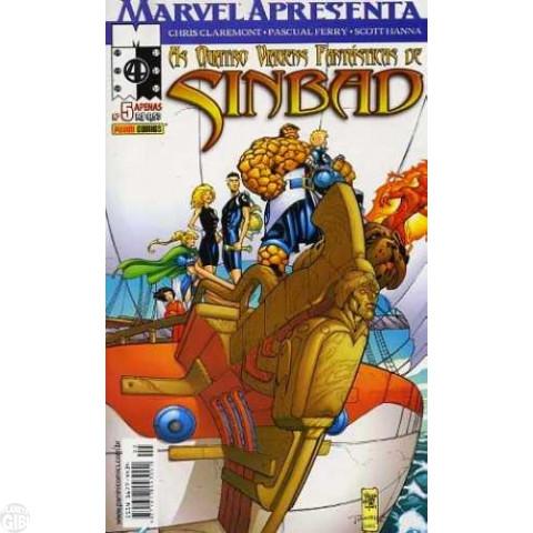 Marvel Apresenta [Panini - 1ª série] nº 005 abr/2003 - As Quatro Viagens Fantásticas de Sinbad - Leia os detalhes abaixo