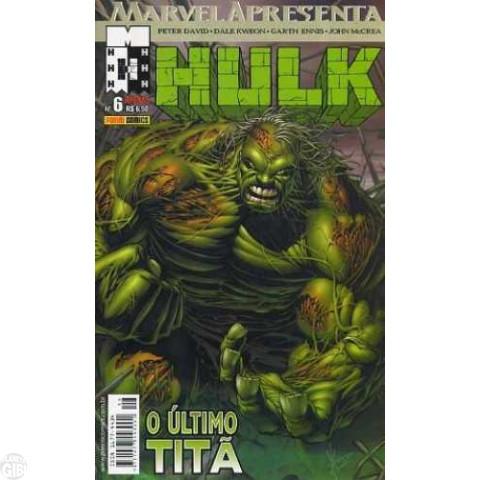 Marvel Apresenta [Panini - 1ª série] nº 006 jun/2003 - Hulk: O Último Titã