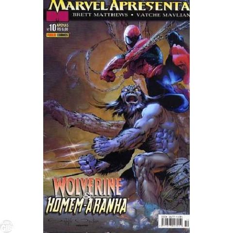 Marvel Apresenta [Panini 1ª série] nº 010 fev/2004 Wolverine & Homem-Aranha