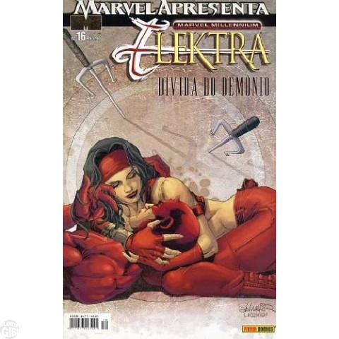 Marvel Apresenta [Panini - 1ª série] nº 016 fev/2005 - Elektra: Dívida do Demônio
