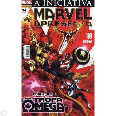 Marvel Apresenta [Panini - 1ª série] nº 034 fev/2008 - Tropa Ômega