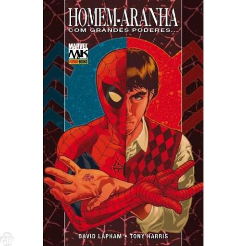 Marvel Collection [Panini] nº 001 abr/2010 Homem-Aranha Com Grandes Poderes - Capa Dura e Pôster