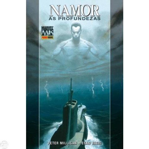 Marvel Collection [Panini] nº 003 jun/2010 Namor As Profundezas - Capa Dura brinde Pôster Gigante