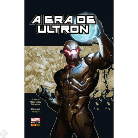 Marvel Deluxe [nº 017] A Era de Ultron [Panini - 1ª edição] abr/2015 - Capa Dura