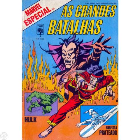 Marvel Especial [Abril] nº 004 dez/1987 - As Grandes Batalhas