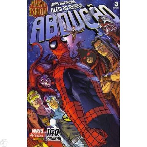 Marvel Especial [Panini - 1ª série] nº 003 jul/2007 - Adbução