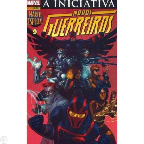 Marvel Especial [Panini - 1ª série] nº 009 set/2008 - A Iniciativa: Novos Guerreiros