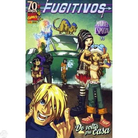 Marvel Especial [Panini - 1ª série] nº 013 mai/2009 - Fugitivos: De Volta para Casa
