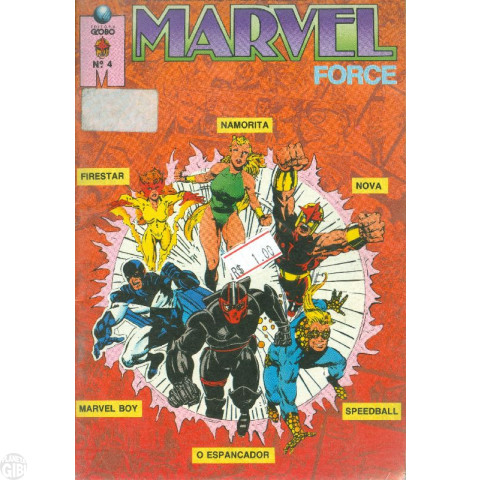 Marvel Force [Globo] nº 004 out/1991