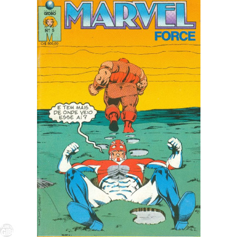 Marvel Force [Globo] nº 005 nov/1991