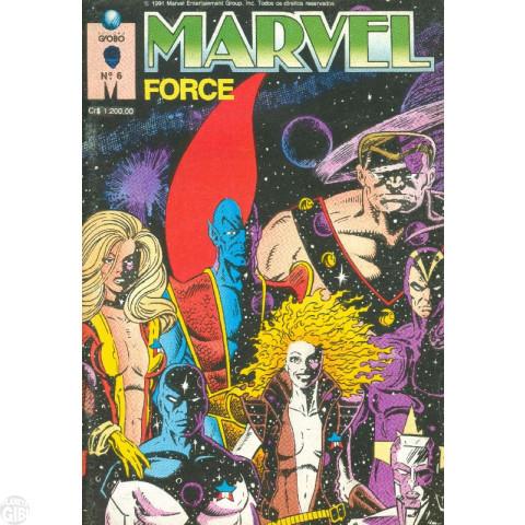 Marvel Force [Globo] nº 006 dez/1991