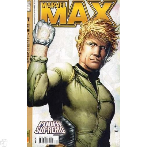Marvel Max [Panini - 1ª série] nº 007 mar/2004 - Mestre do Kung Fu | Alias - Jessica Jones | Poder Supremo