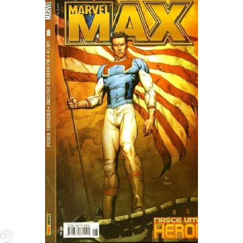 Marvel Max [Panini - 1ª série] nº 008 abr/2004 - Mestre do Kung Fu | Alias - Jessica Jones | Poder Supremo