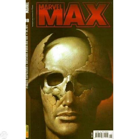 Marvel Max [Panini 1ª série] nº 010 jun/2004 Justiceiro, Alias, Jessica Jones. Poder Supremo