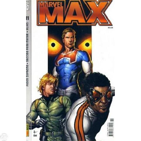 Marvel Max [Panini - 1ª série] nº 011 jul/2004 - Justiceiro | Alias - Jessica Jones | Poder Supremo