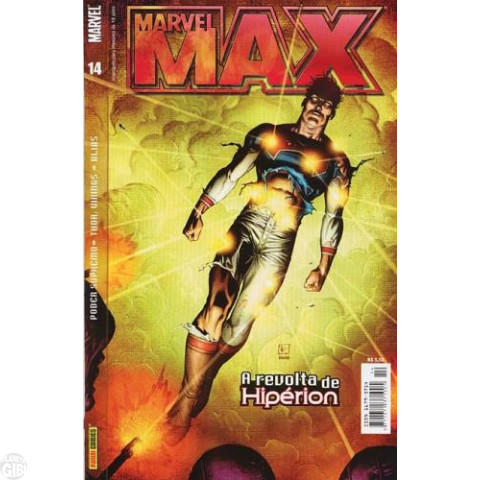 Marvel Max [Panini - 1ª série] nº 014 out/2004 - Thor: Vikings | Alias - Jessica Jones | Poder Supremo