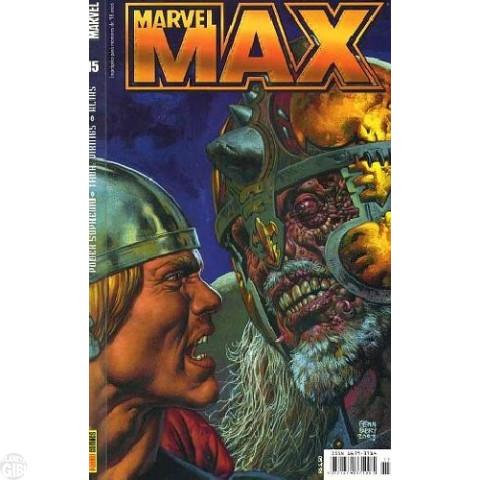 Marvel Max [Panini - 1ª série] nº 015 nov/2004 - Thor: Vikings | Alias - Jessica Jones | Poder Supremo