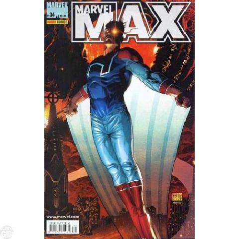 Marvel Max [Panini - 1ª série] nº 034 jun/2006 - Heróis sem Poderes | Hipérion | Falcão Noturno