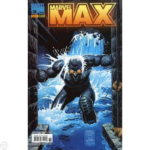 Marvel Max [Panini - 1ª série] nº 036 ago/2006 - Viúva Negra | Fury | Falcão Noturno