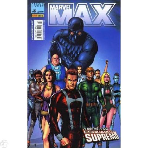 Marvel Max [Panini - 1ª série] nº 037 set/2006 - Viúva Negra | Fury | Esquadrão Supremo