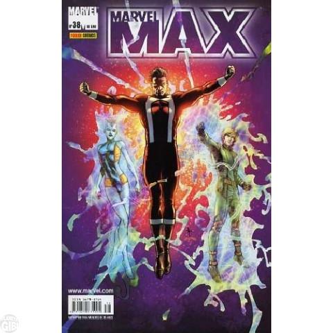 Marvel Max [Panini - 1ª série] nº 038 out/2006 - Viúva Negra | Fury | Esquadrão Supremo