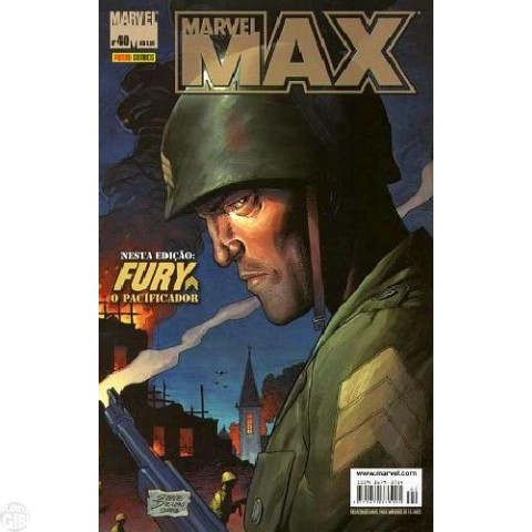 Marvel Max [Panini - 1ª série] nº 040 dez/2006 - Viúva Negra | Fury | Esquadrão Supremo