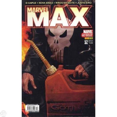 Marvel Max [Panini - 1ª série] nº 052 dez/2007 - Justiceiro | Tiros na Noite | O Capuz | Nova Onda