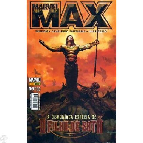 Marvel Max [Panini 1ª série] nº 056 abr/2008 Justiceiro, Cavaleiro Fantasma, Wisdom, Hellstorm