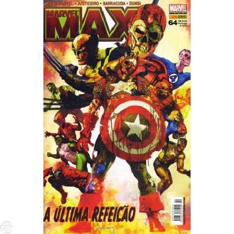 Marvel Max [Panini - 1ª série] nº 064 dez/2008 - Zumbis Marvel 2 | Zumbi | Justiceiro | Barracuda