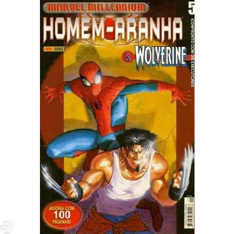 Marvel Millennium Homem-Aranha [Panini - 1ª série] nº 005 mai/2002