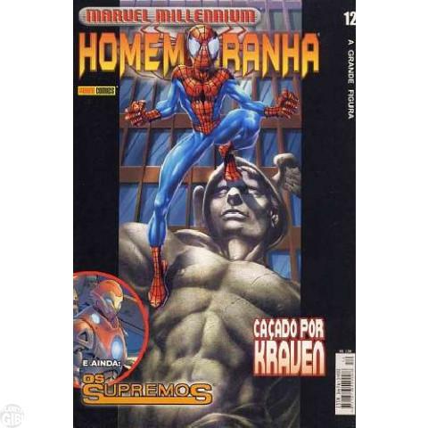 Marvel Millennium Homem-Aranha [Panini - 1ª série] nº 012 dez/2002