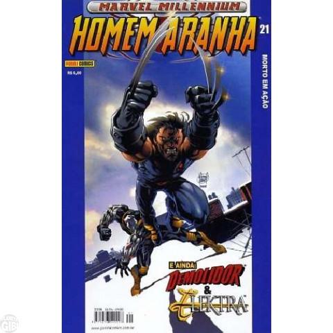 Marvel Millennium Homem-Aranha [Panini - 1ª série] nº 021 set/2003