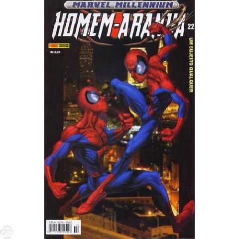 Marvel Millennium Homem-Aranha [Panini - 1ª série] nº 022 out/2003