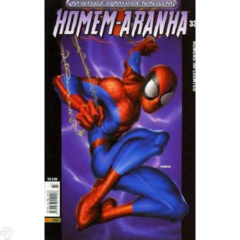 Marvel Millennium Homem-Aranha [Panini - 1ª série] nº 033 set/2004