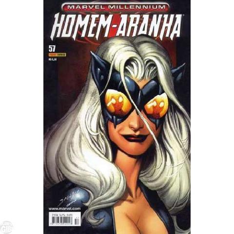 Marvel Millennium Homem-Aranha [Panini - 1ª série] nº 057 set/2006