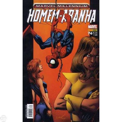 Marvel Millennium Homem-Aranha [Panini - 1ª série] nº 074 fev/2008