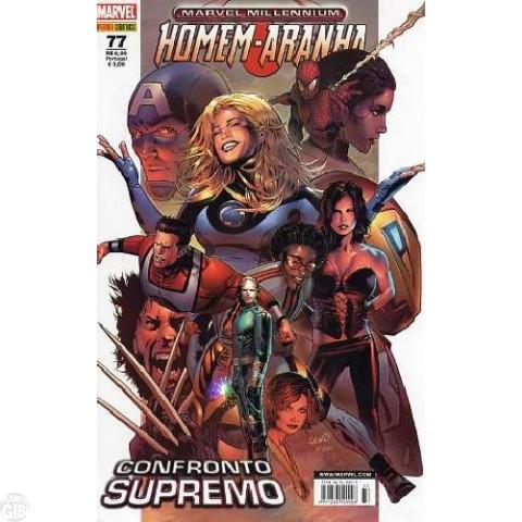 Marvel Millennium Homem-Aranha [Panini - 1ª série] nº 077 mai/2008