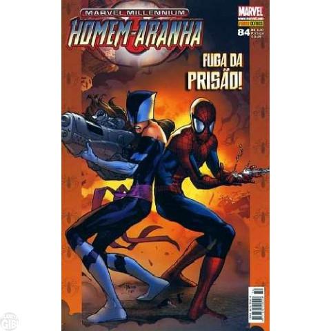 Marvel Millennium Homem-Aranha [Panini - 1ª série] nº 084 dez/2008