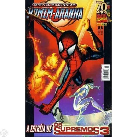 Marvel Millennium Homem-Aranha [Panini - 1ª série] nº 086 fev/2009