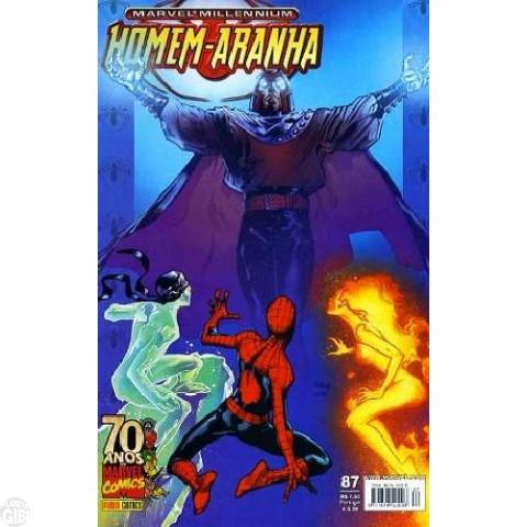 Marvel Millennium Homem-Aranha [Panini - 1ª série] nº 087 mar/2009