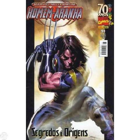 Marvel Millennium Homem-Aranha [Panini - 1ª série] nº 091 jul/2009